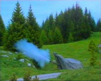 Canon de 10,5 cm 1942 Tourelle, Coup parti !
