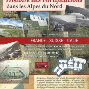 FORTIFICATIONS dans les Alpes du Nord – Vol 1 et 2