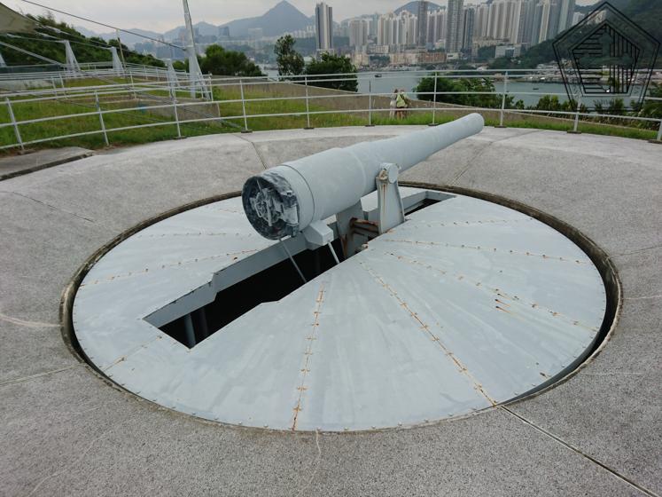 HONG KONG – Fort Lei Yue Mun – Le gardien de l'entrée de la carpe
