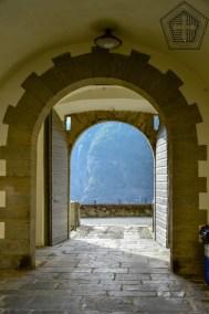 Fort de Bard, Entrée Est