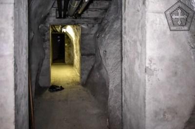 Accès depuis le sous-sol