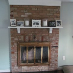 How To Decorate My Small Living Room For Christmas The Dublin Opening Hours A Mini Fireplace Renovation And Decor – Smith ...