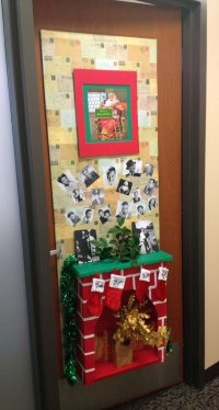 door decorating contest  A Smith of All Trades