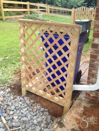 Download How to build wood fence with lattice top Plans ...