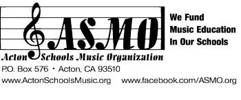 Acton Schools Music Organization