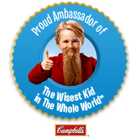 Wisest Kid in the Whole World Ambassador badge