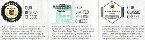 Sartori cheese review types of cheese