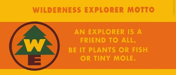 Wilderness Explorer Motto