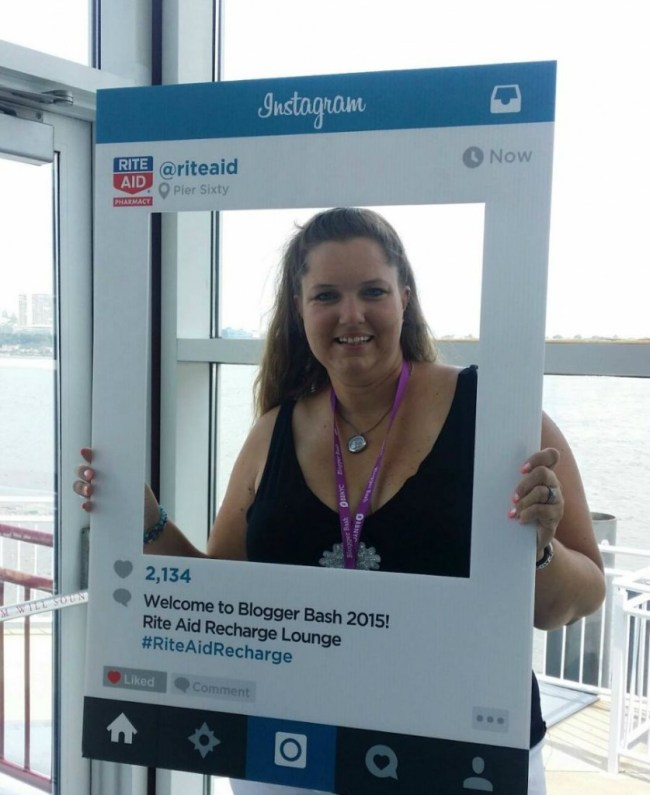 Rite Aid Recharge Lounge Selfie at Blogger Bash