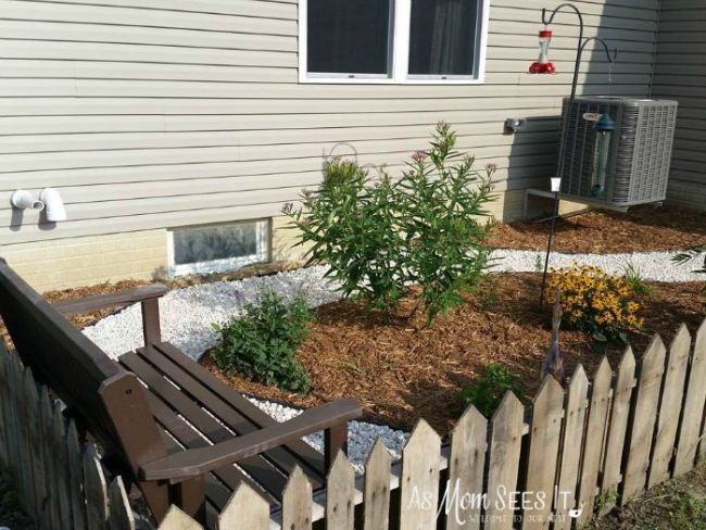 butterfly garden fencing
