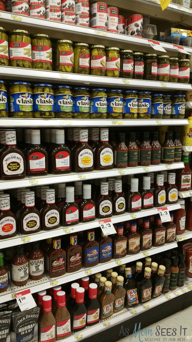 grill station condiments