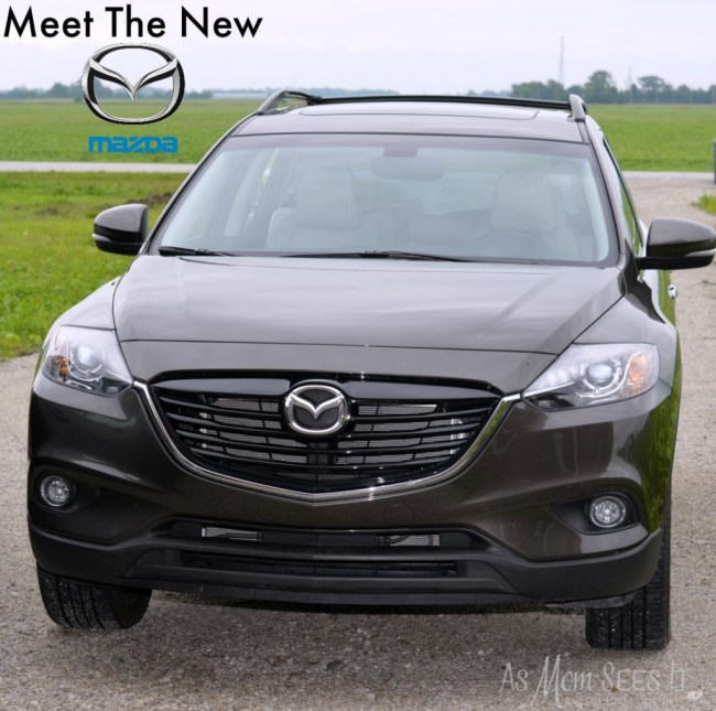 Mazda CX-9 review front view
