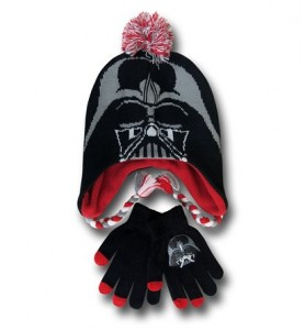 star wars hat and gloves