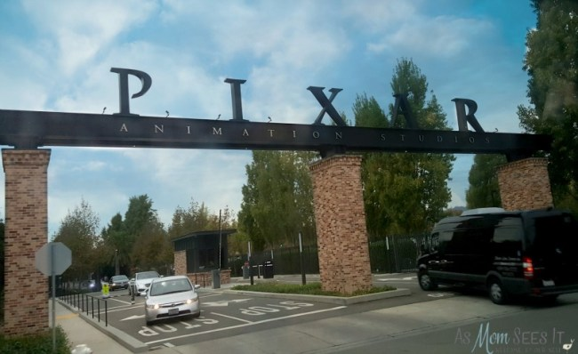 Pixar Studios Gate Entrance