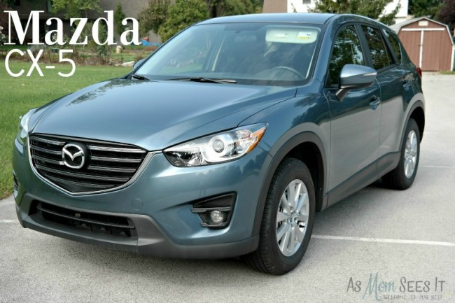Mazda CX-5 is a sporty and fuel efficient crossover vehicle