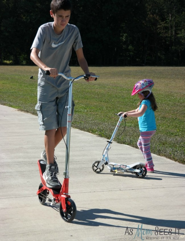 Rockboard Scooters are great for kids from toddler to teen