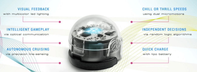 Ozobot features