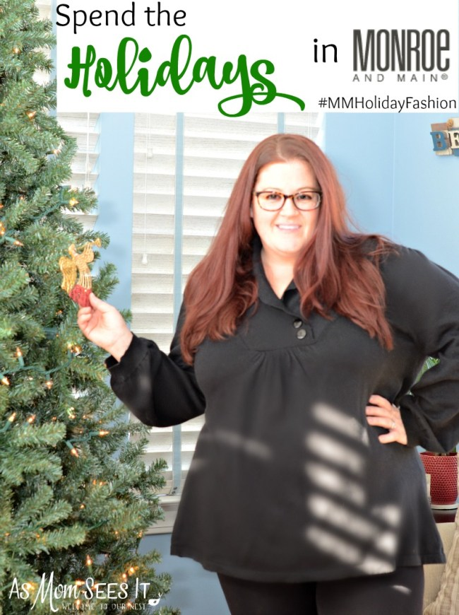 Monroe and Main has fun holiday clothing for all sizes