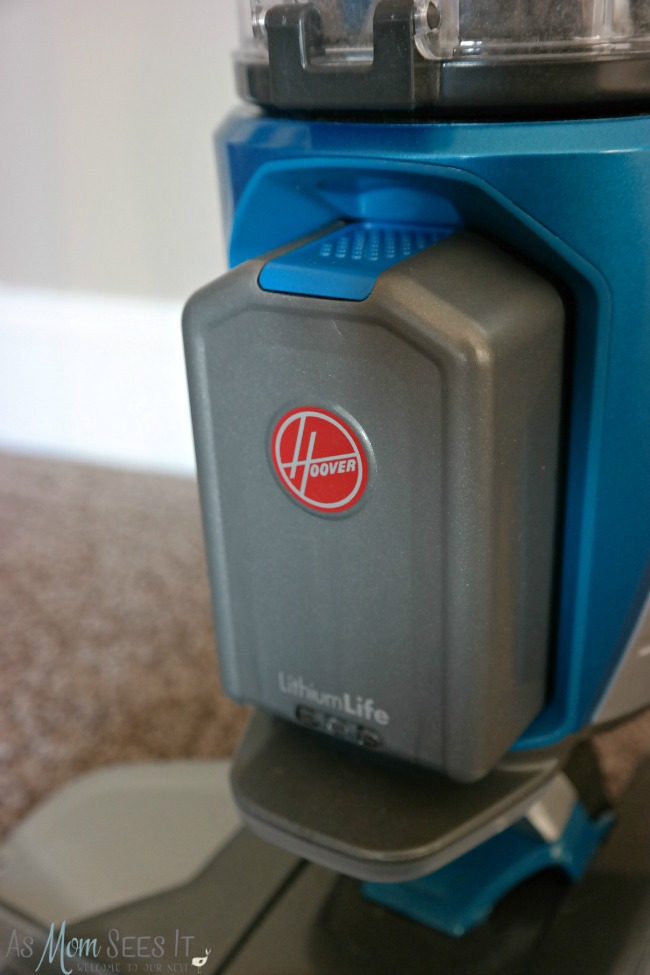 Hoover cordless gives you up to 50 minutes of cleaning power without a cord