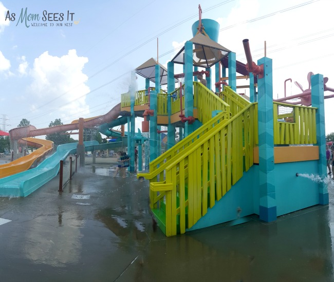 Lookout Lagoon is perfect for independent play for little ones