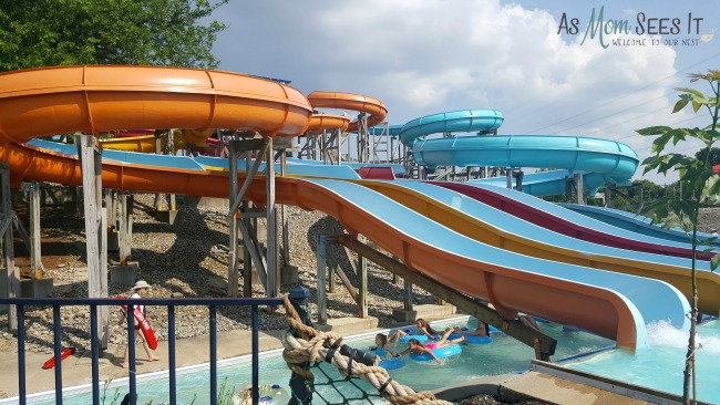 The water rides at King's Island range from crazy relaxing to crazy insane