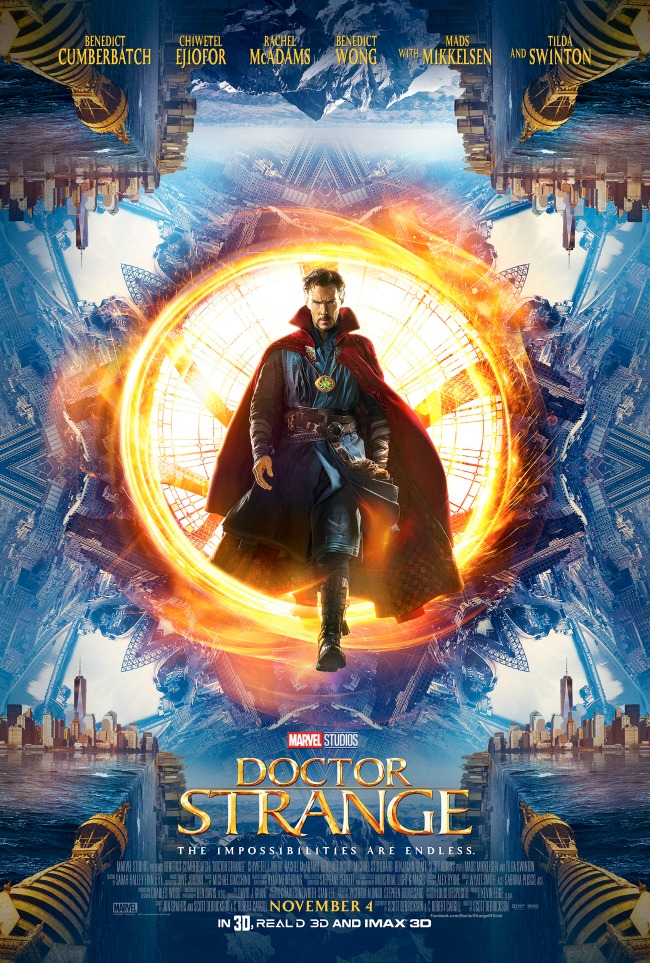 Doctor Strange new poster and trailer