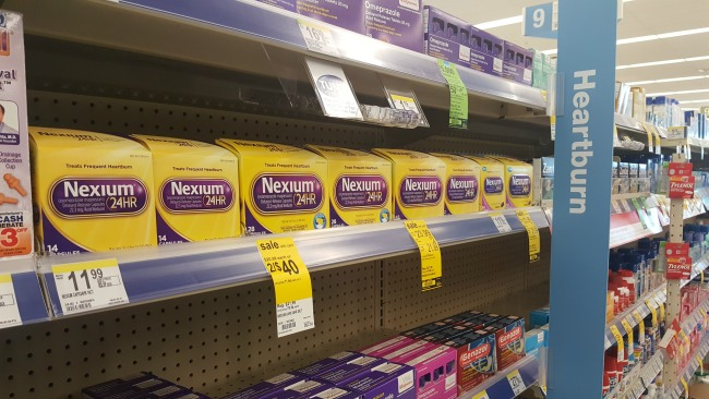 Nexium at Walgreens