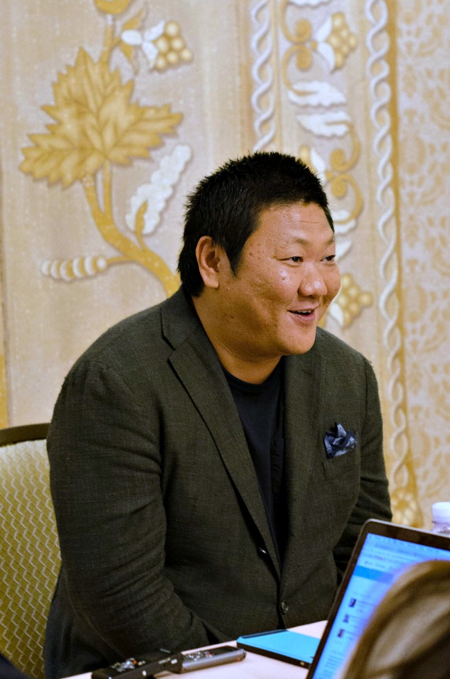 Benedict Wong from Marvel's Doctor Strange, discusses how he got the role of Master Wong