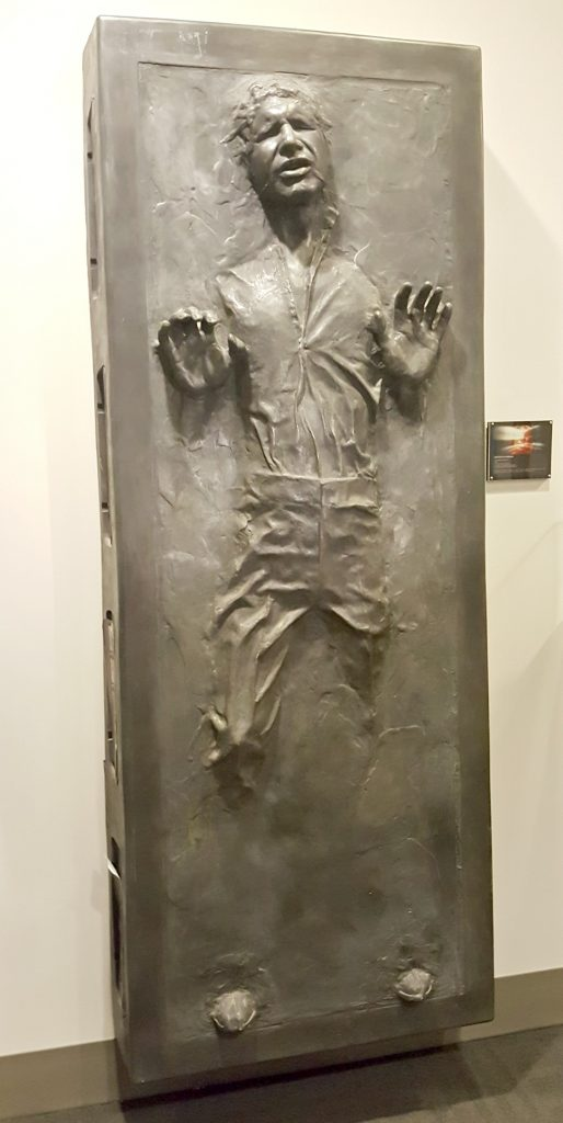 Han Solo in Carbonite from Star Wars