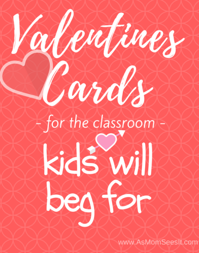 Valentines Cards for the classroom