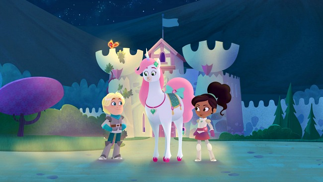 Nickelodeon's Nella the Princess Night and her friends