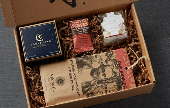 A peek inside the all new Amazon Prime Surprise Sweets
