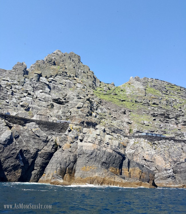 Skellig Michael is the island where Star Wars was filmed