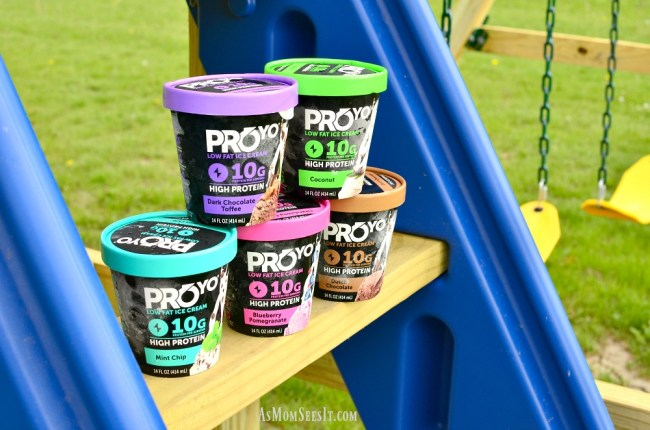 ProYo High Protein Low Fat Ice Creams