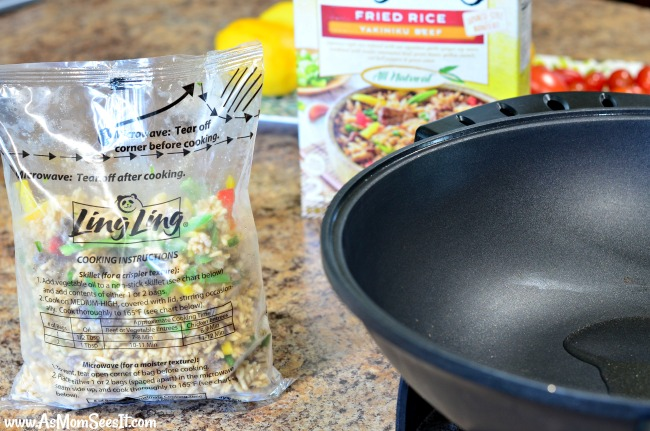 Ling Ling Asian Inspired Fried Rice Frozen Entrees