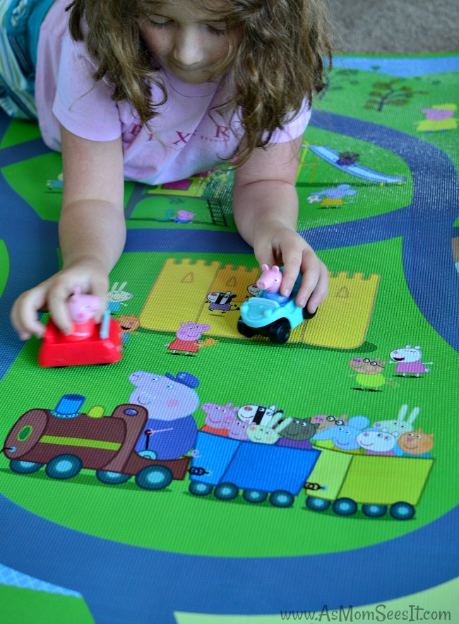 Peppa Pig washable playmat
