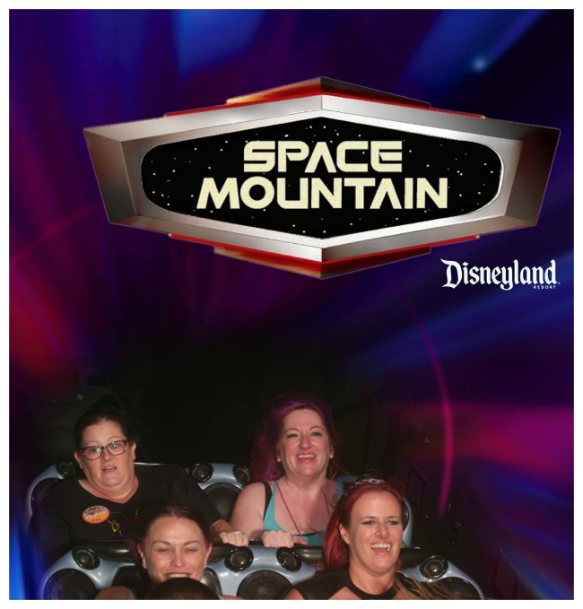 This is my scared face on Disneyland's Space Mountain