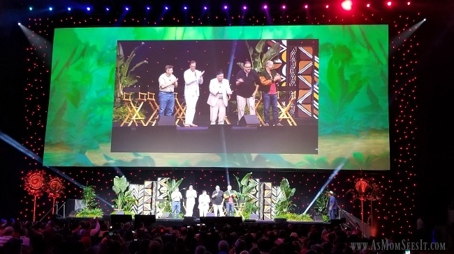 The panel for The Lion King at Disney's D23 Expo this year.