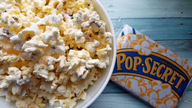 A delicious movie time snack