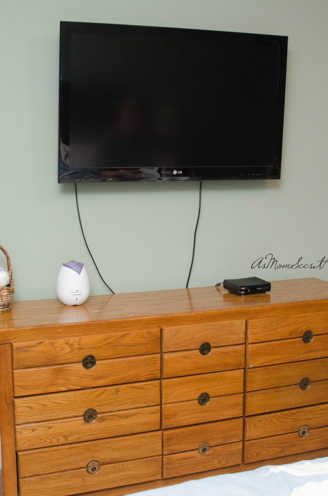 With the Legrand in wall kit from Best Buy, you can hide ugly cords and wires from sight