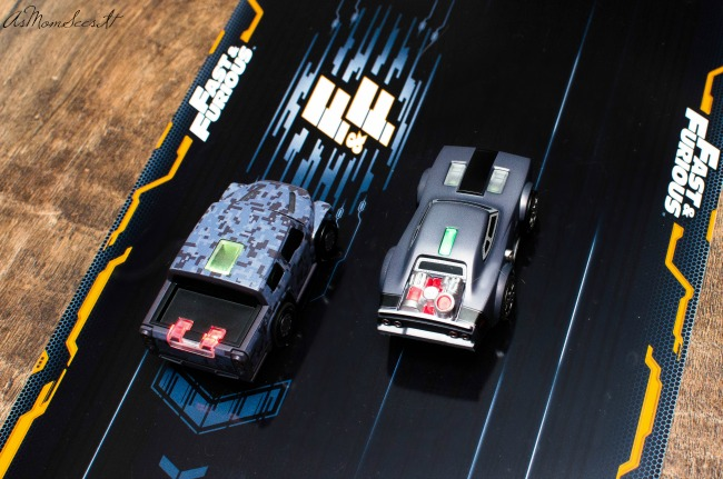 With Anki Overdrive Fast & Furious, Keep the race all in the Toretto family—or race with or against other commanders. After all, it doesn't matter what's under the hood. What matters is who's behind the wheel.