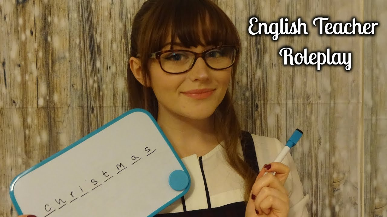 VIDEO English Teacher Roleplay SophieMichelle ASMR