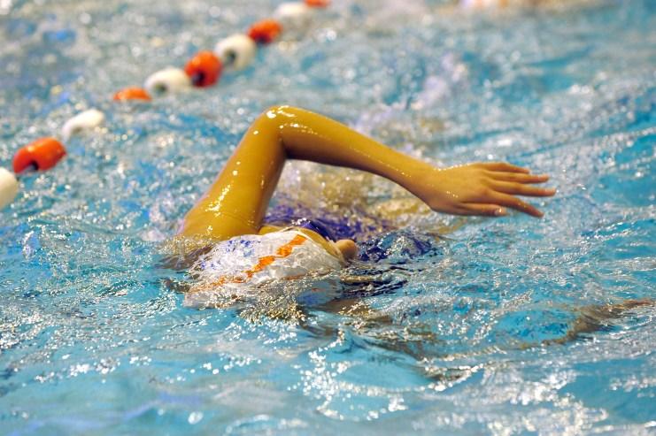 nageur piscine