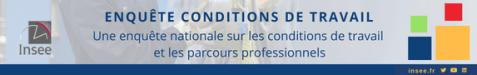 Bannière INSEE