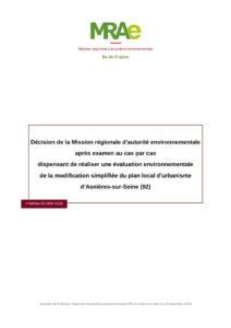 thumbnail of MRAe_Décision cas par cas modification PLU Asnières-sur-Seine (92…