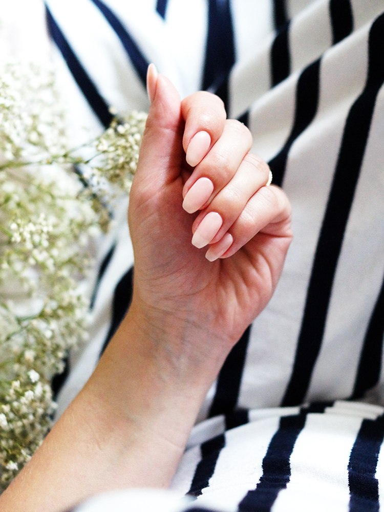 How to do a gel overlay on your natural nails | A Snippet of Life
