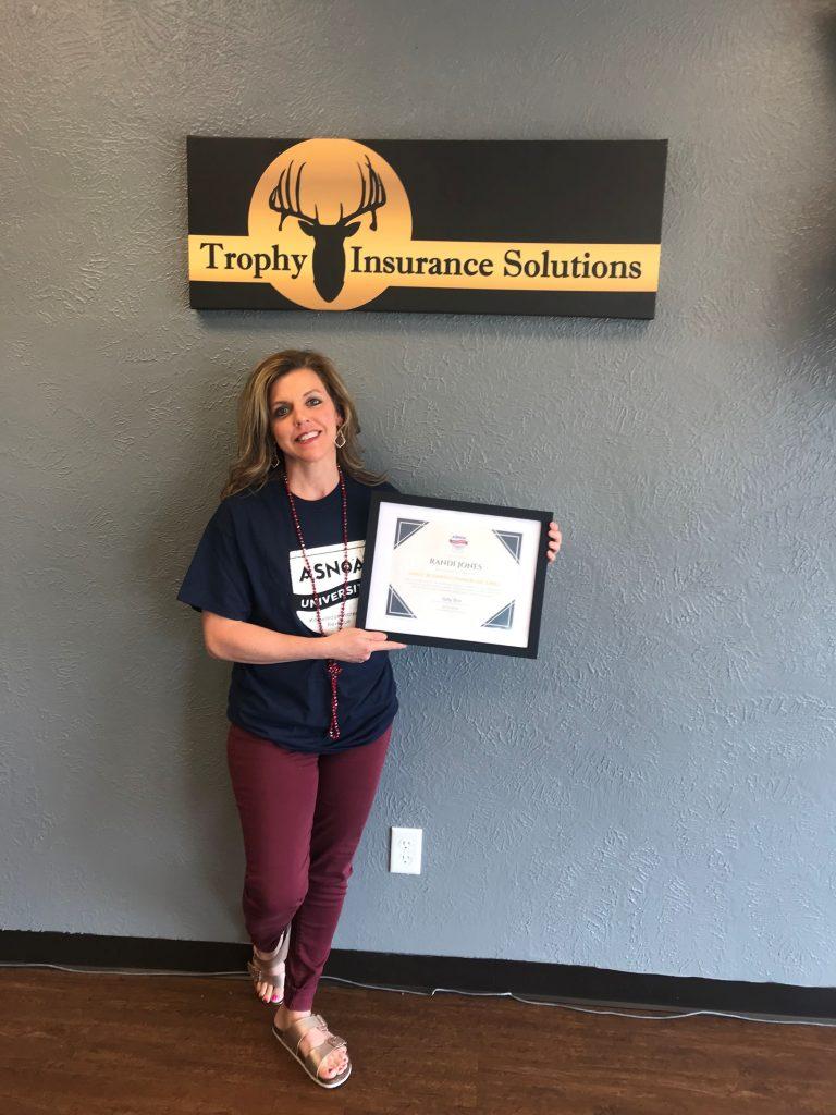 Randi Jones - TX - Trophy Ins Solutions