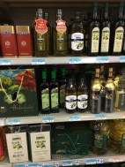 Olive oil is in a separate aisle from all the other oils in Wal-Mart in China. I have no idea why.