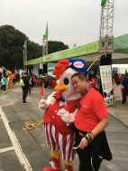 Signs you're running a race in China: anything KFC