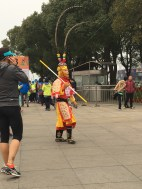 Signs you're running a race in China: references to 5,000 years of cultural history